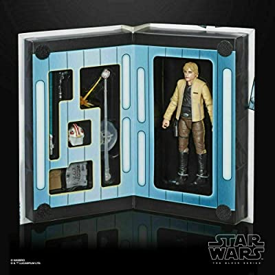 Hasbro Star Wars Black Series Luke Skywalker Strikes Action Figure: Toys & Games