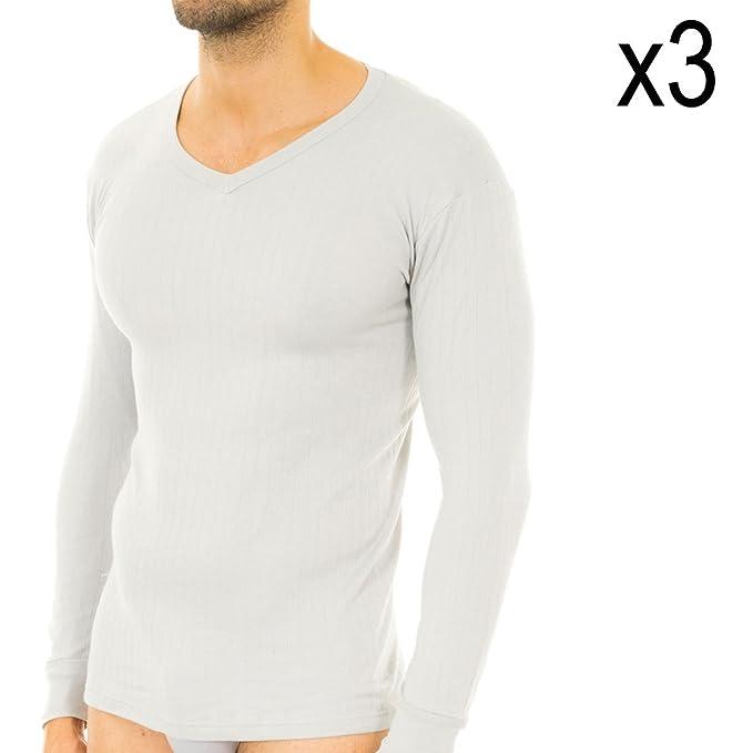 Abanderado Pack-3 Camiseta m Larga Termal  Amazon.es  Ropa y accesorios 66eb0f91827ba