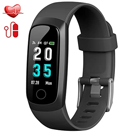 ... Presión Arterial Reloj Deportivo Podómetro GPS Impermeable IP67 Cronómetro Smartwatch para Android iOS Teléfono: Amazon.es: Deportes y aire libre