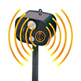 Solar Ultrasonic Animal Repeller, Outdoor Pest