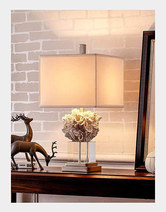 Amazon.com: LWF WFL-% Table lamp Table lamp Mediterranean ...