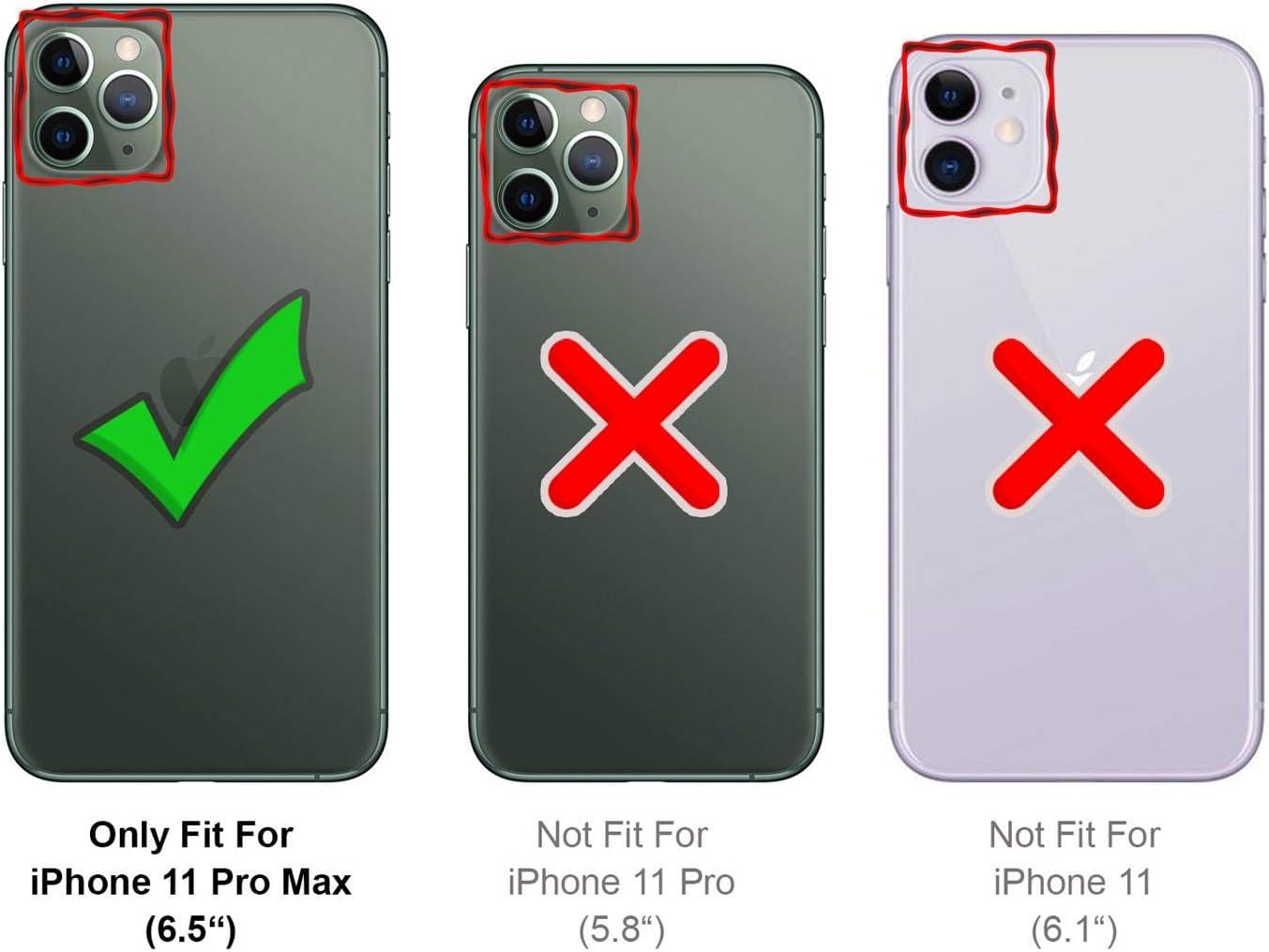 Verco Funda para iPhone 11 Pro MAX Suave de Silicona L/íquida Carcasa Anti-Choques Case para Apple iPhone 11 Pro MAX Funda Amarillo