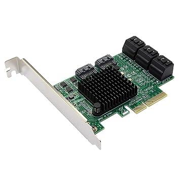 Almencla Adaptador De Tarjeta PCI-E A USB 3.0 8 Puertos USB ...
