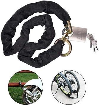 AWinEur Candado de cadena para bicicleta: Amazon.es: Bricolaje y ...