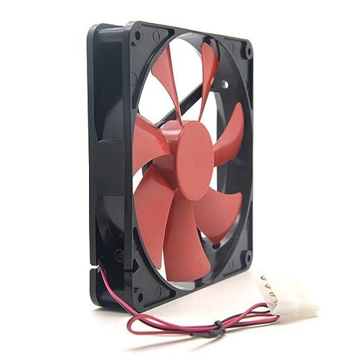US Computer Cooling Fan PC Silent Quiet Desktop Cooling Fan 140mm 14cm DC 12V 4D