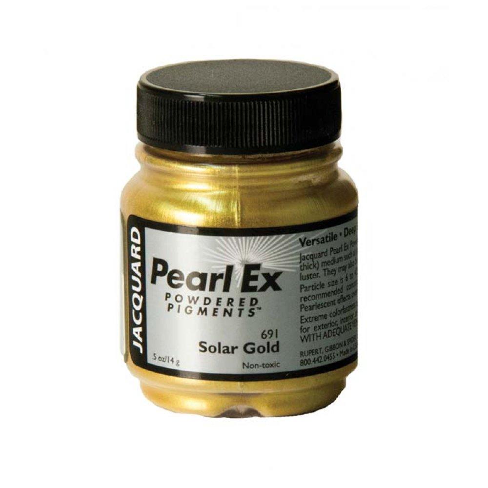 Pigmento Jacquard Pearl Ex 14gr. Oro Solar