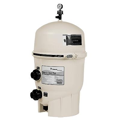 Pentair 160340 Clean & Clear Plus Fiberglass Reinforced Polypropylene Tank Cartridge Pool Filter