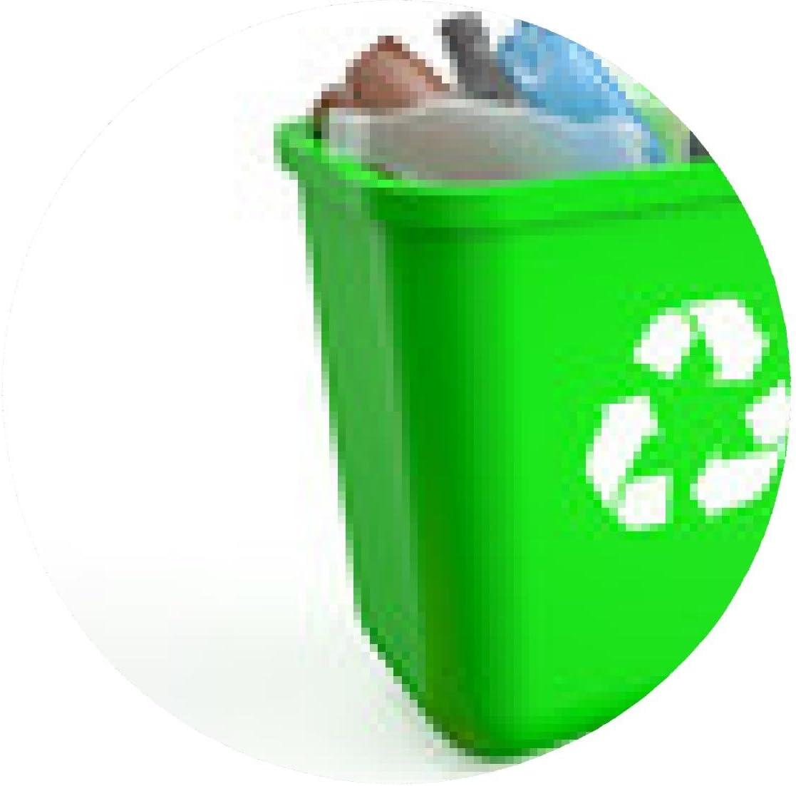alfombrilla de ratón papelera de reciclaje de botellas de plástico ...