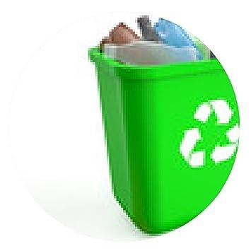 alfombrilla de ratón papelera de reciclaje de botellas de plástico: Amazon.es: Electrónica