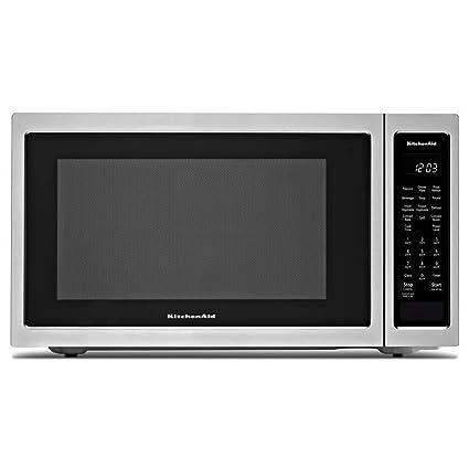 Merveilleux Kitchen Aid KMCC5015GSS 1.5 Cu. Ft. Countertop Convection Microwave Oven