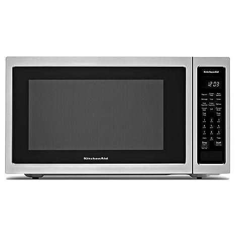 Amazon.com: Kitchen Aid kmcc5015gss 1,5 Cu. Ft. Encimera ...