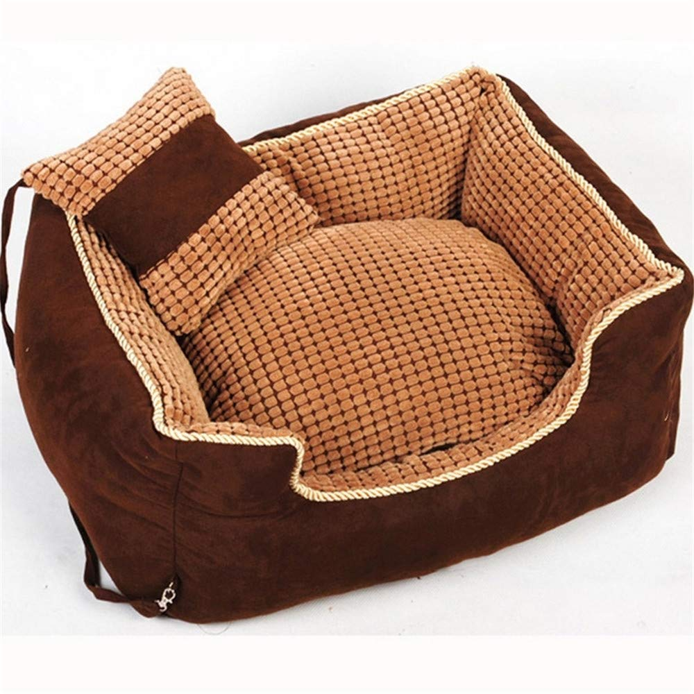 suministramos lo mejor Wuwenw Wuwenw Wuwenw Puppy Pet Dog Bed Warming Dog House Soft   Sofa Invierno Cálido Give A Pillow, XL  tiendas minoristas