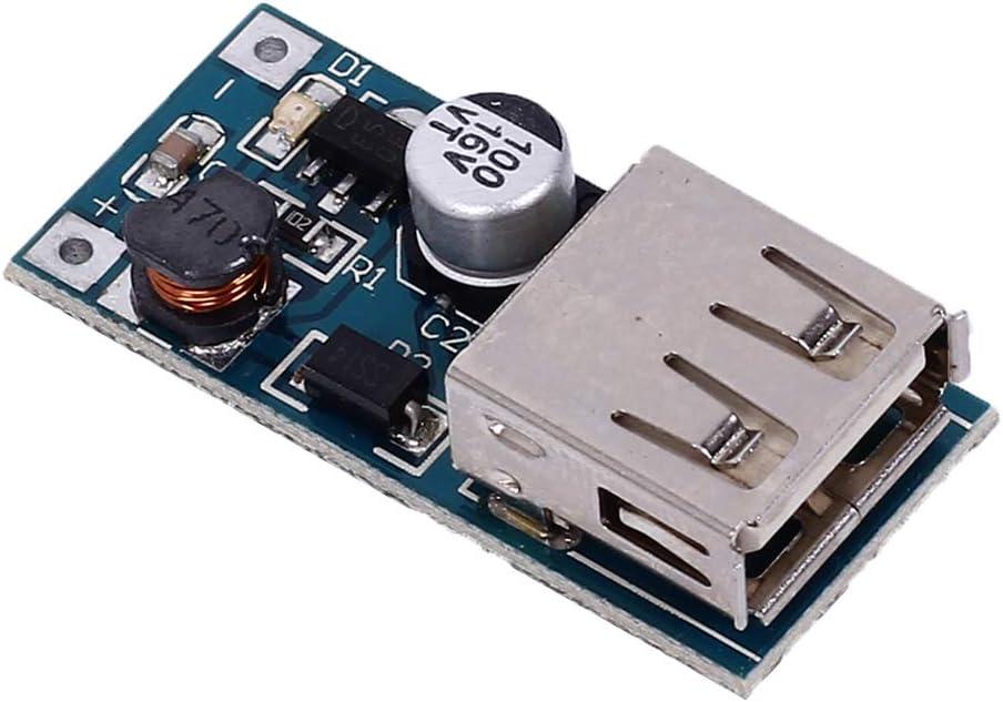2//5//10 PCS USB Port 0.9V-5V to 5V  DC-DC Booster Step-up Power Supply Module
