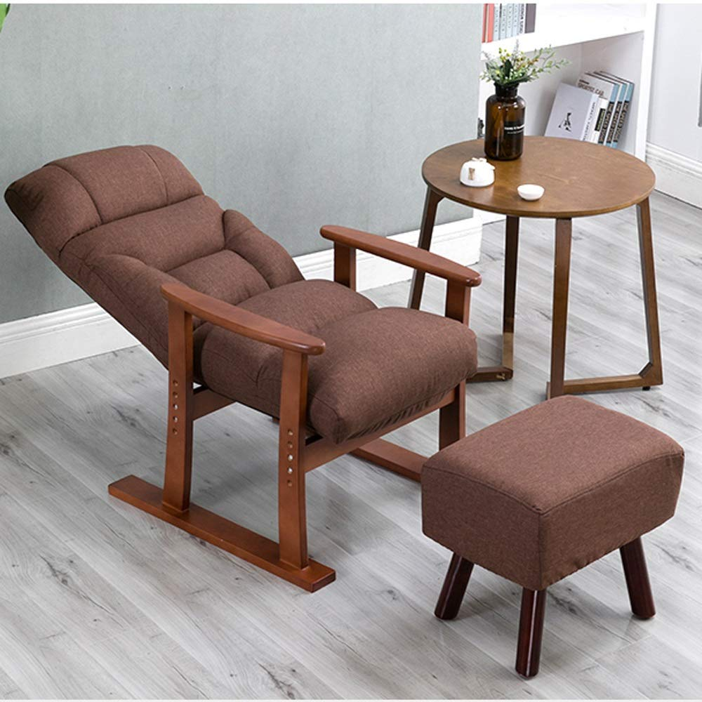 Amazon.com: Sofá plegable silla de salón tapizado sillón ...