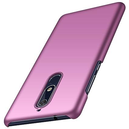 Amazon.com: WEEVOO Nokia 5.1 Funda, Ultra Fina Premium ...