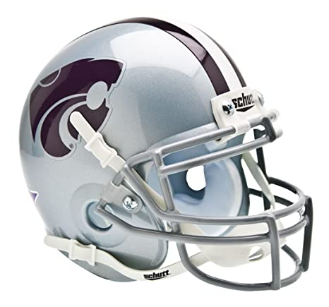 College-NCAA KANSAS STATE WILDCATS Riddell Speed Mini Helmet Fan Apparel & Souvenirs