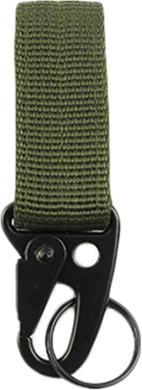 Outdoor Tactical Carabiner Backpack Hooks Molle Hook Survival Gear Belt Buckle