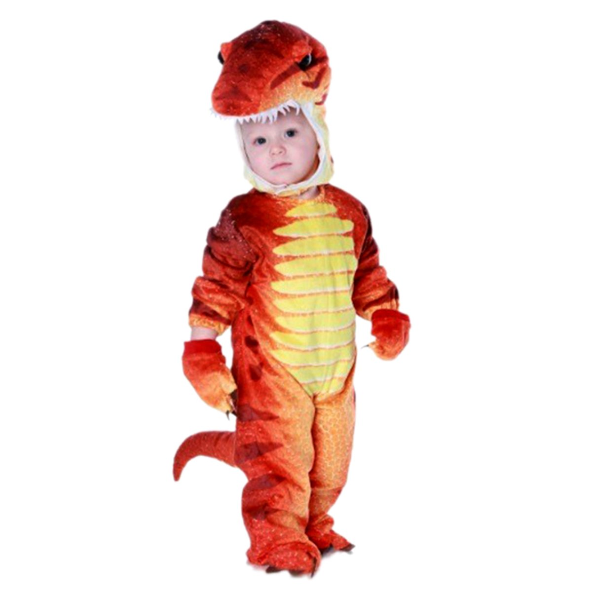 NoveltyBoy Toddler Dinosaur Jumpsuit Child T-rex Costume Baby's Dragon Suit 135291
