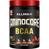 AMINOCORE BCAA – 8G BCAAs – 100% Pure Branch Chained Amino Acids – Gluten Free - Watermelon - 315 Gram