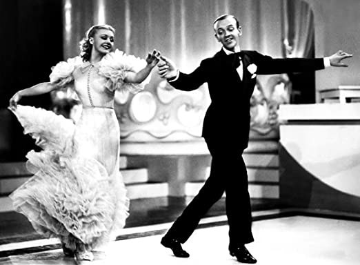 Amazon Com Posterazzi Evcmbdswinec020large Swing Time Ginger Rogers Fred Astaire 1936 Photo Print 16 X 20 Multi Posters Prints