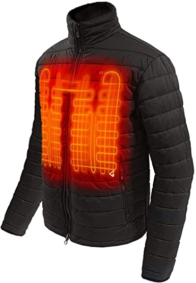 GYDE BY GERBING 12V HEATED MOTORCYCLE JACKET LINER LAYER BLACK NEW FREE SHIPPING