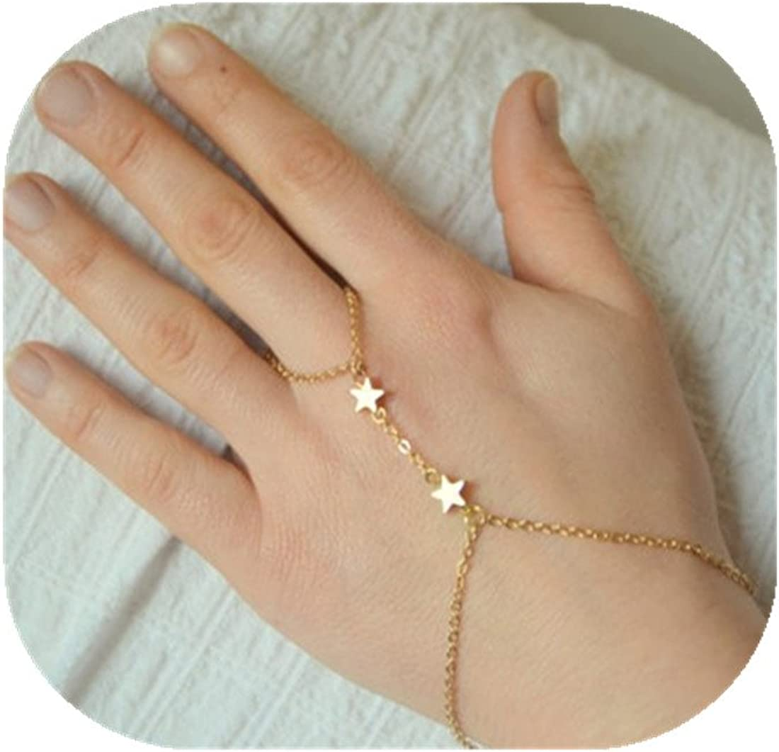 ring chain bracelet