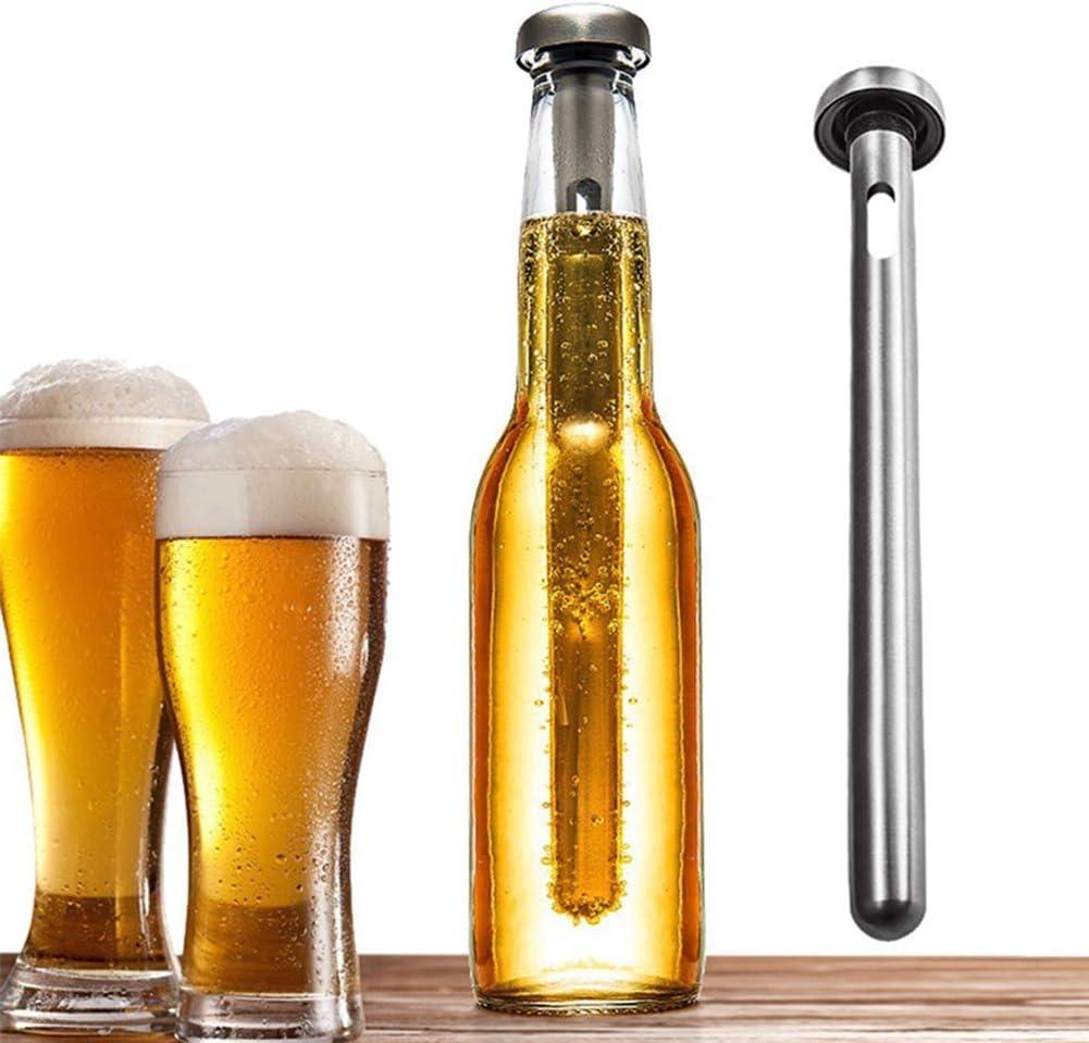 Uyhghjhb - Barra enfriadora de cerveza (acero inoxidable) multicolor