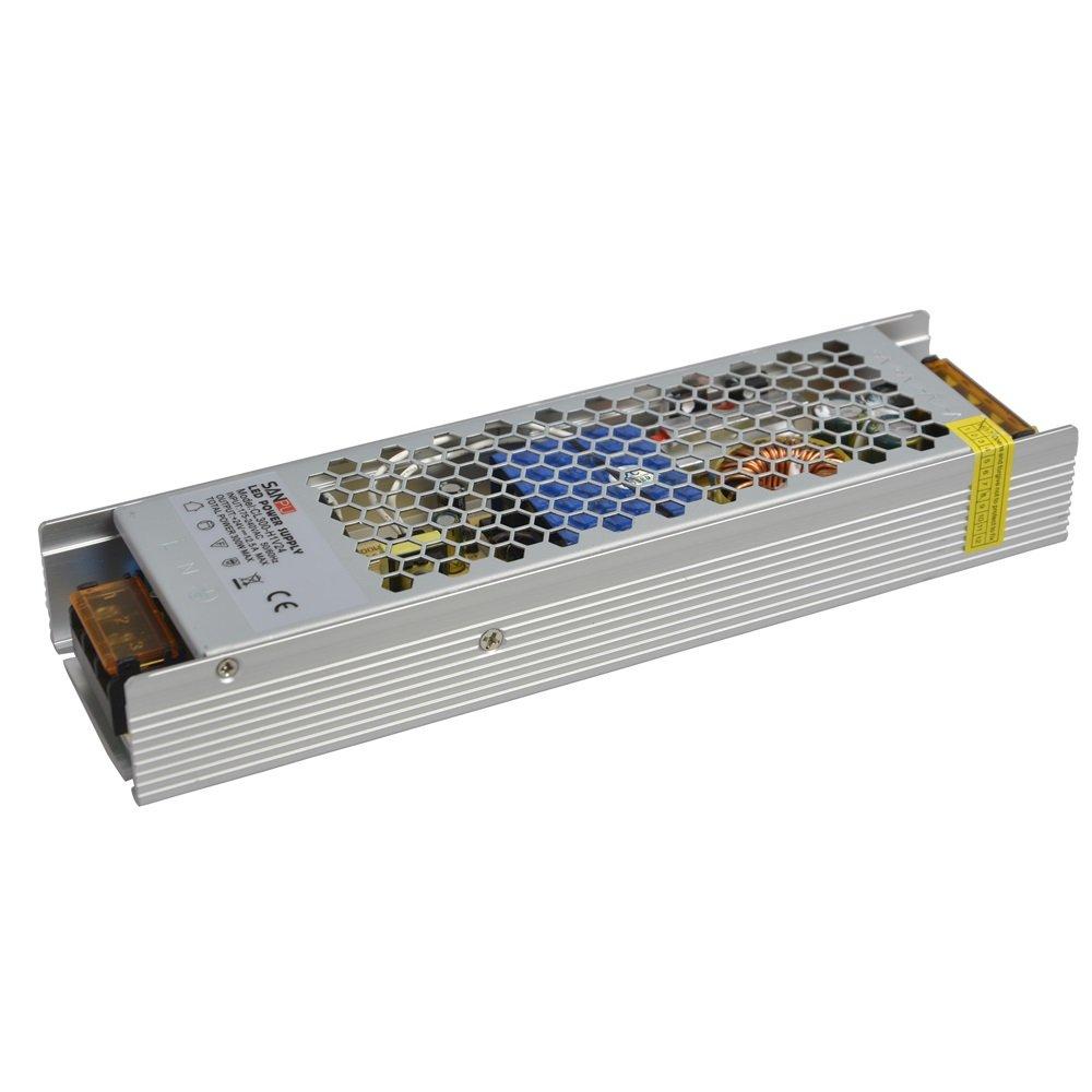 Fuente de alimentación de conmutación EMC 24 V 300 W 12,5 A de baja salida de ruido 220 V 230 V AC-DC transformador SMPS sin ventilador para impresora 3D 24 VDC (SANPU CL300-H1V24 EMC)