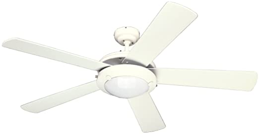 Westinghouse 7801765 comet 52 inch ceiling fan white finish westinghouse 7801765 comet 52 inch ceiling fan white finish amazon aloadofball Gallery