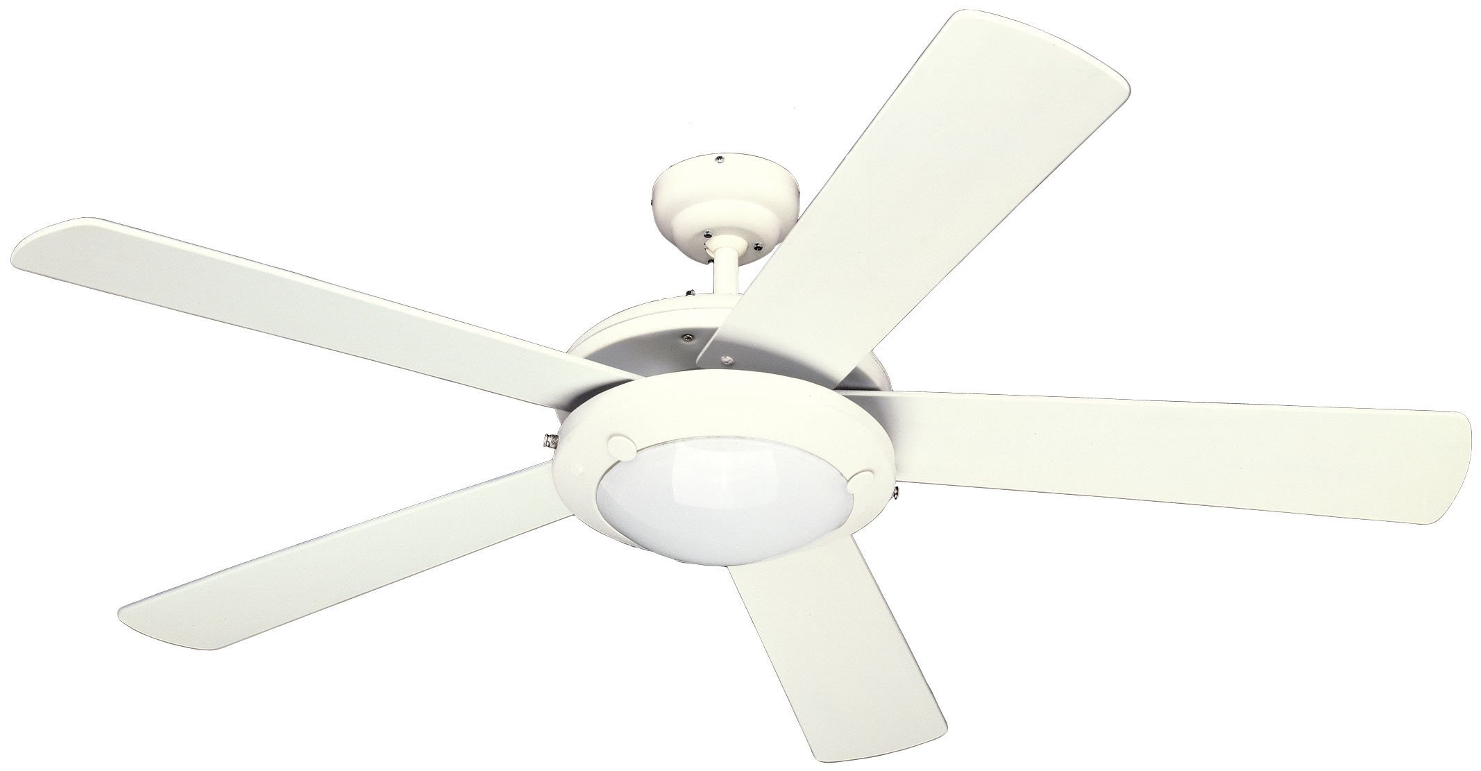Westinghouse 7801765 Comet 52 Inch Ceiling Fan, White Finish