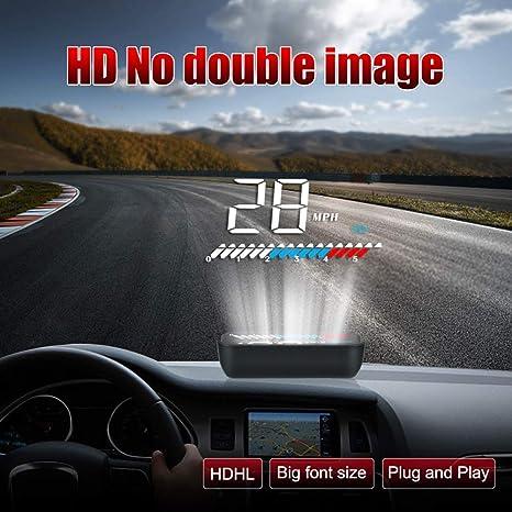 LHTE GPS Head-up Display indicador de Velocidad, proyección de ...