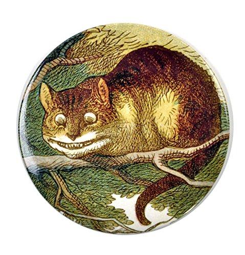 Cheshire Cat Compact Pocket Handbag Mirror - Alice in Wonderland