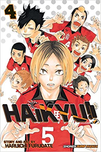 Haikyuu!! Volume 4 Review