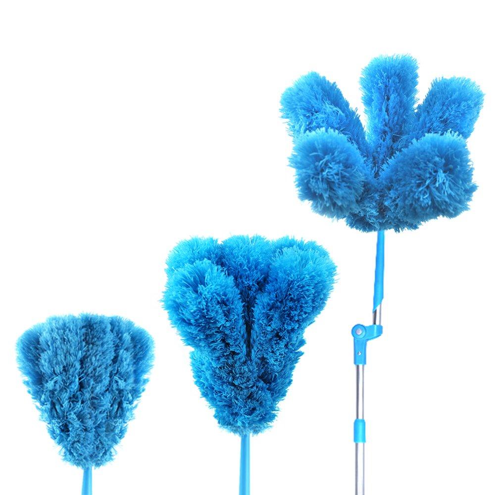 ceiling fan duster with extension pole. amazon.com: houseables duster, microfiber, long, extendable, ceiling fan, feather claw, 47\ fan duster with extension pole e