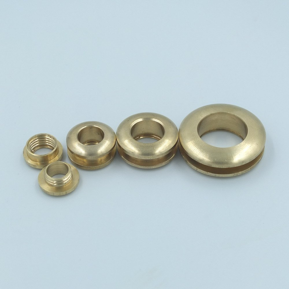 5 Sets Grommet Eyelets 20mm 3/4 for Canvas Clothes Leather Self Backing Purse Buckle Brass micoshop