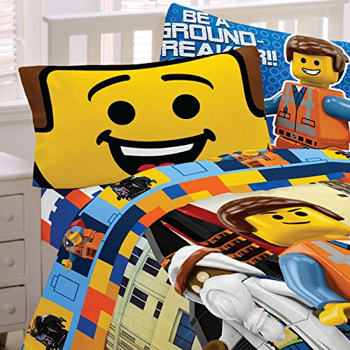 Lego the Movie Twin Sheets ( 3 Piece Set )