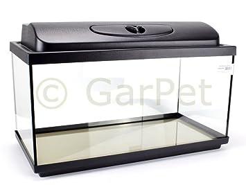 Acuario Juego completo rectangular con T8 protectora Filtro calefactor Acuario Set: Amazon.es: Productos para mascotas
