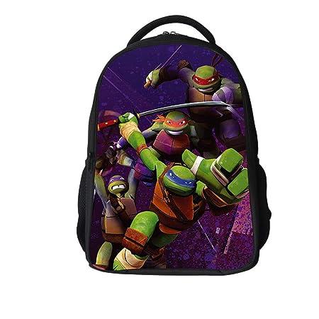 YHJ backpack Mochila Escolar para Niños 3D Ninja TUPTLES ...