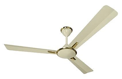 Crompton Aura 48 Inch 74 Watt Decorative High Speed Ceiling Fan (Ivory)