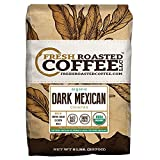 Dark Mexican Chiapas Organic Coffee, Whole Bean, Fresh Roasted Coffee LLC. (5 lb.)