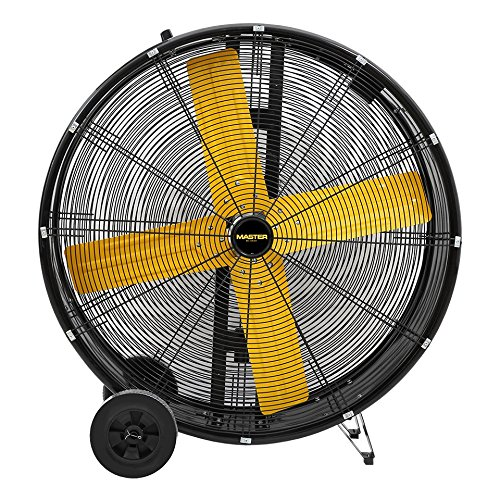 Master High Capacity Direct-Drive Barrel Fan 30 Inch 5500 CFM, 1/3 HP,120 Volt -