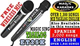 MAGIC SING KARAOKE MIC ET25K WITH WIRELESS DUET MIC PACKAGE. TAGALOG EDITION.