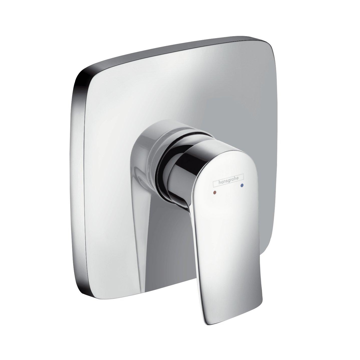 Hansgrohe 31493000 Metris Set de finition pour mitigeur bain/douche encastré Chromé Hansgrohe^hansgrohe