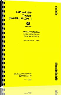 61Z470kQAqL._AC_UL320_SR224320_ john deere shop manual jd 202 models 2510, 2520, 2040, 2240, 2440 wiring diagram for john deere 2040 tractor at soozxer.org