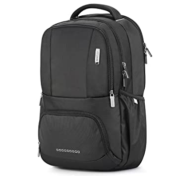 american tourister polyester black school backpack