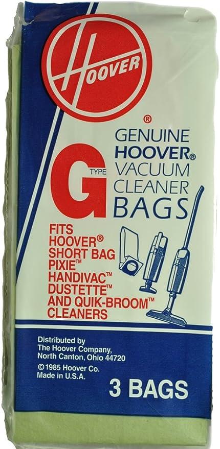 Aspirador tipo G bolsas de vacío para: Hoover Pixie HandiVac ...