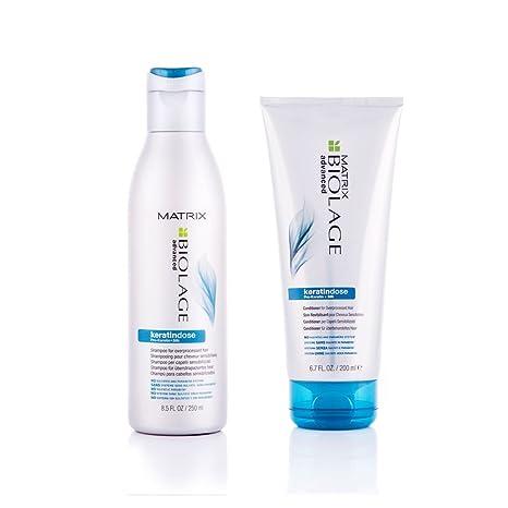 Matrix Biolage Keratindose DUO Shampoo 250ml & Conditioner 200ml