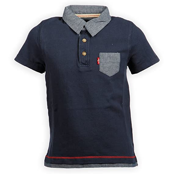 Levis - ABEL Polo de Niño - Color - Azul - Talla - 3: Amazon.es ...