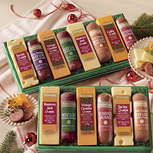 Sausage 'n Cheese Bars Gift Box from The Swiss Colony