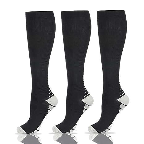 Calcetines de compresión para hombres y mujeres (20-25 mmHg) – 3/